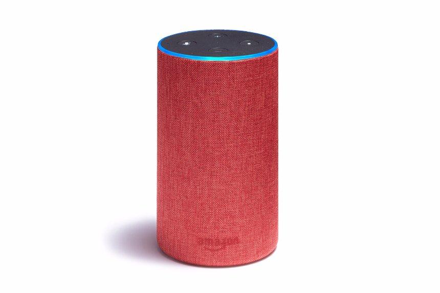 Представлена красная версия Amazon Alexa