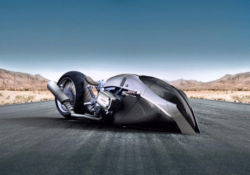 BMW презентовала безумный концепт мотоцикла будущего
