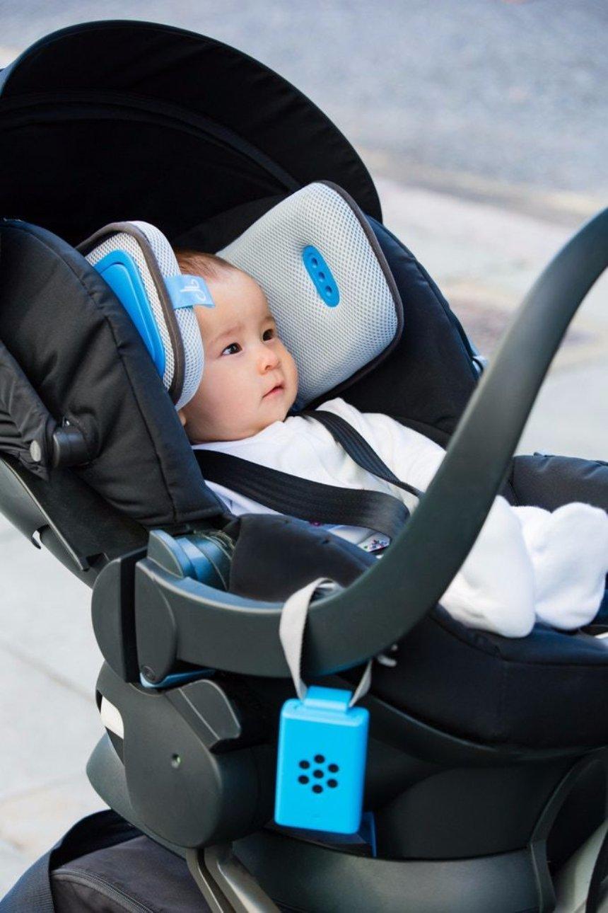 Для младенцев разработана подушка, которая может очищать воздух