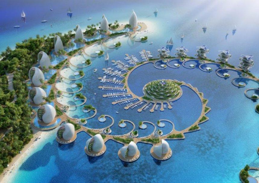 Создан футуристический проект для эко-курорта на Филиппинах