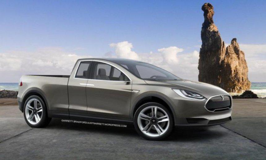 Tesla в скором времени может выпустить пикап