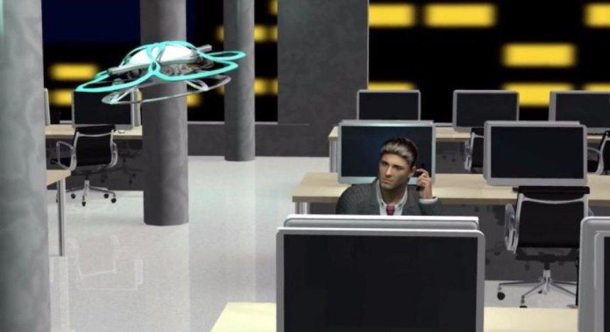 Для японских работников создали дрон, отправляющий их с места службы домой