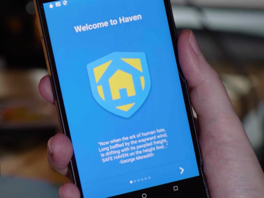 Новое приложение Эдварда Сноудена превращает любой Android-телефон в систему наблюдения