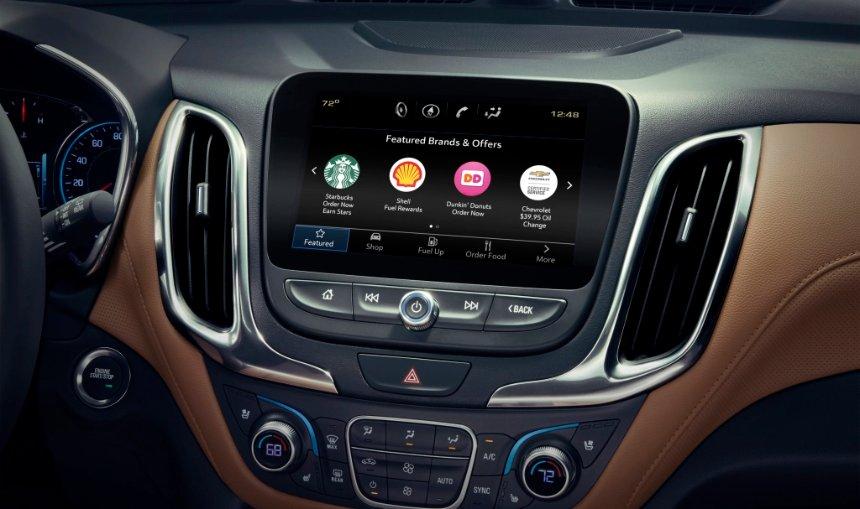 General Motors запускает Marketplace для покупок и бронирования в автомобиле