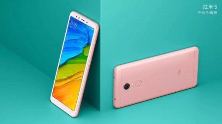 Xiaomi  официально представила свои новые смартфоны Redmi 5 и Redmi 5 Plus