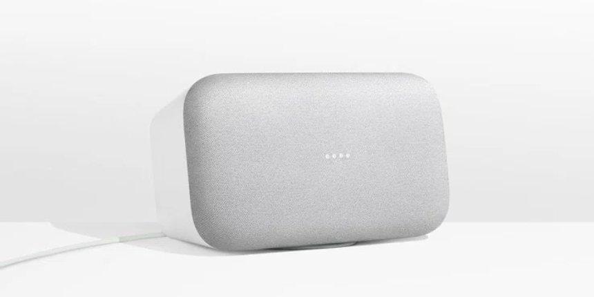 В продажу поступит премиальный динамик от Google Home Max