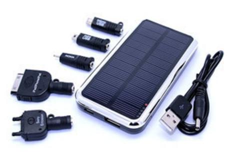 Большой выбор солнечных зарядок для мобильных устройств