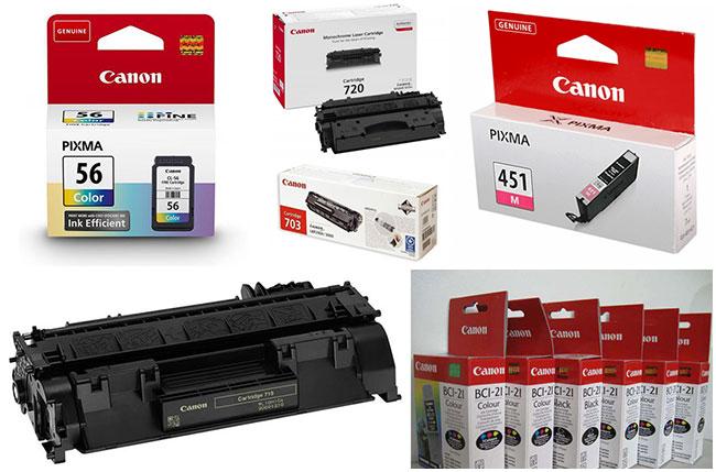Картриджи Canon пользуются спросом