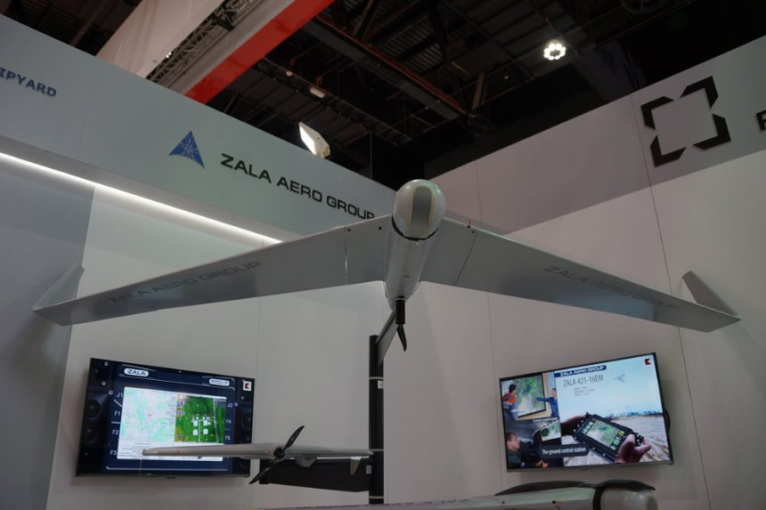 Трубопроводы, принадлежащие Газпрому будут патрулировать с помощью дронов