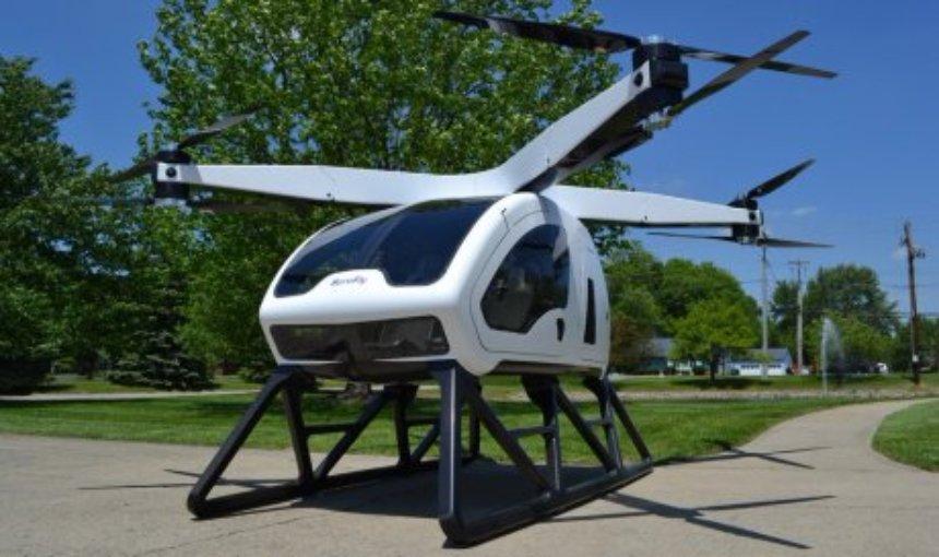 Выставка CES стала площадкой для курсирования пассажирских дронов