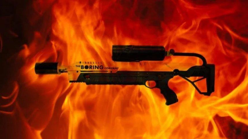 Илон Маск успешно продает огнеметы, полезные при зомби-апокалипсисе