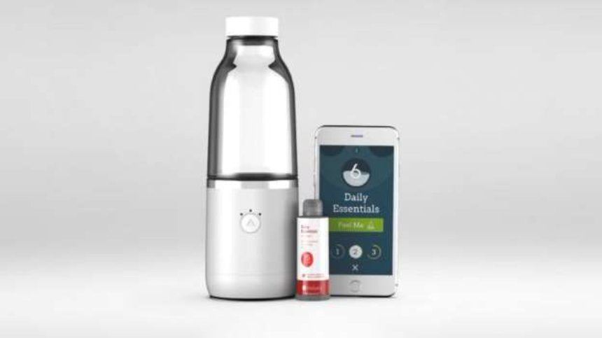 Представлена аккумуляторная бутылка, которая может подсластить воду