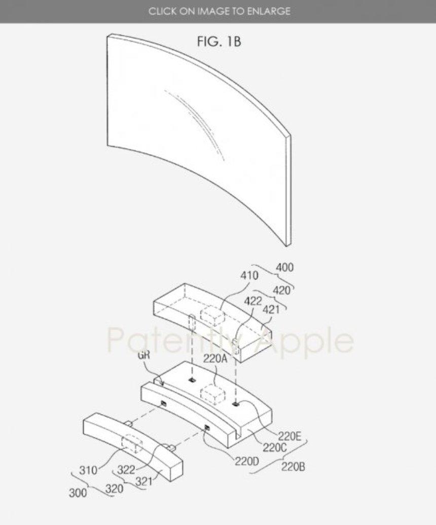 Samsung запатентовала технологию модульного телевидения