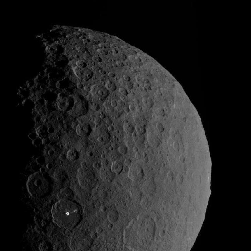 Первый обнаруженный в истории астероид оказался карликовой планетой