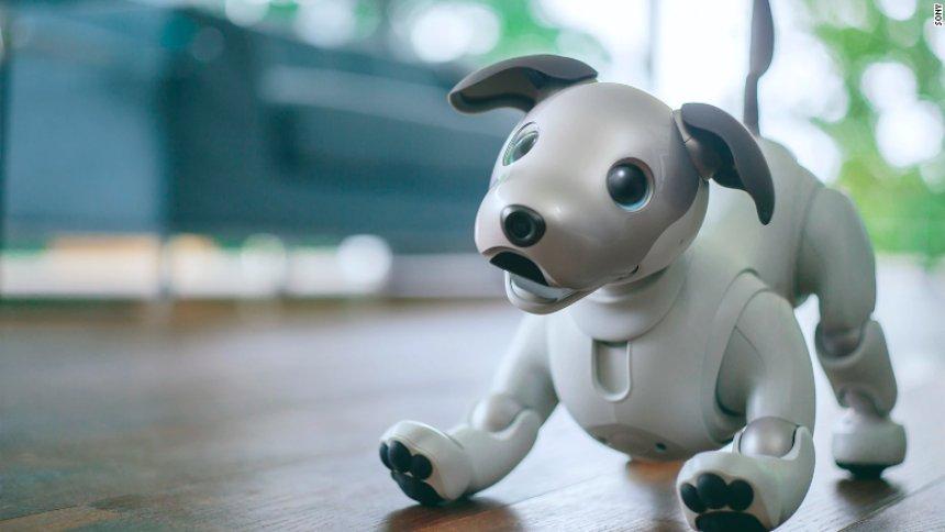 Представлена новая версия собаки-робота Aibo