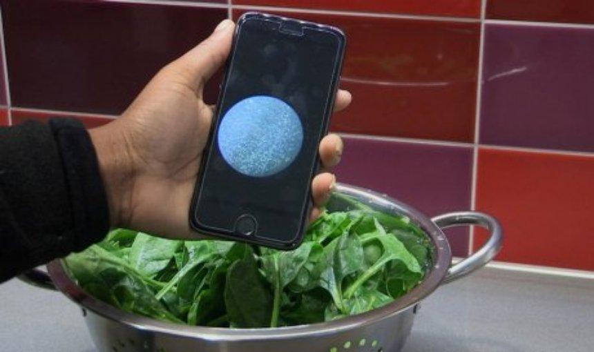Бактерии в пище можно будет находить с помощью смартфона