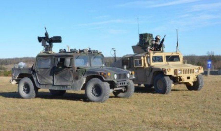В США испытывают роботизированный армейский автомобиль