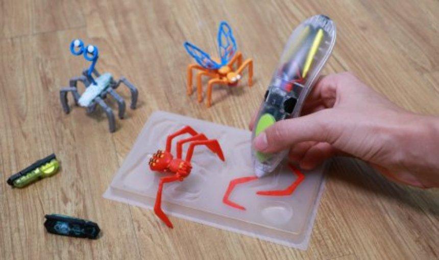 С помощью специальных наборов дети смогут создавать роботизированных героев