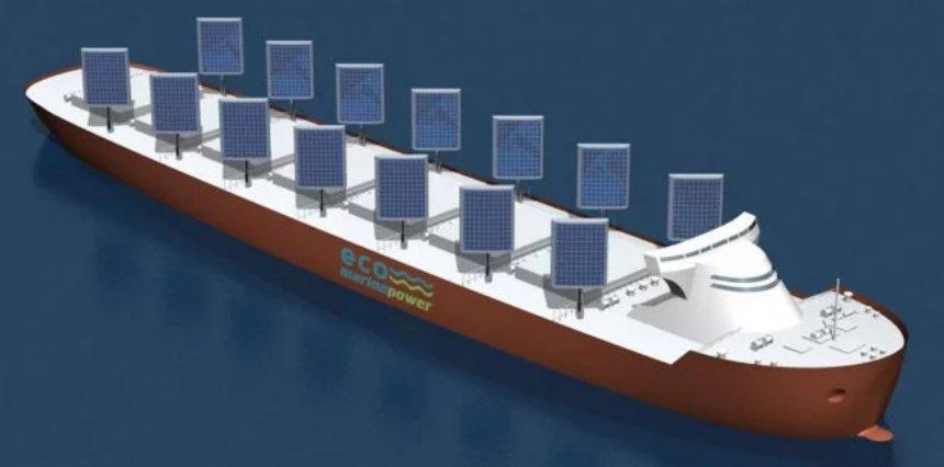 В Японии хотят создать корабли на солнечных парусах