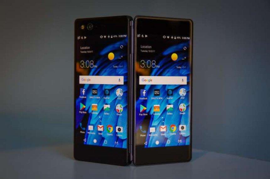 Складной телефон Samsung 2018 года может иметь складной дисплей