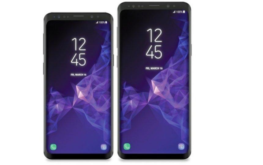 Появились официальные рендеры нового Samsung Galaxy S9