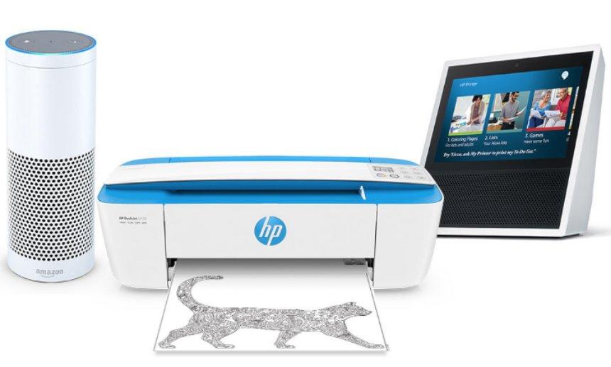 Alexa теперь может подключаться к принтерам HP