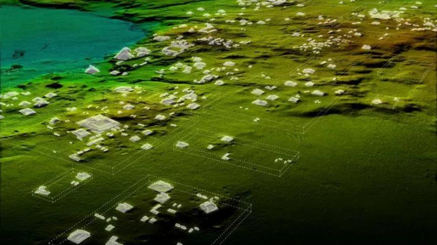 В Гватемале под джунглями нашли подземный город майя
