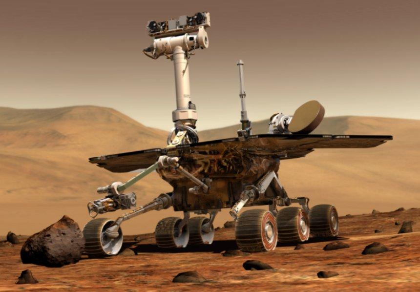 Ровер НАСА празднует 14-летие пребывания на Марсе
