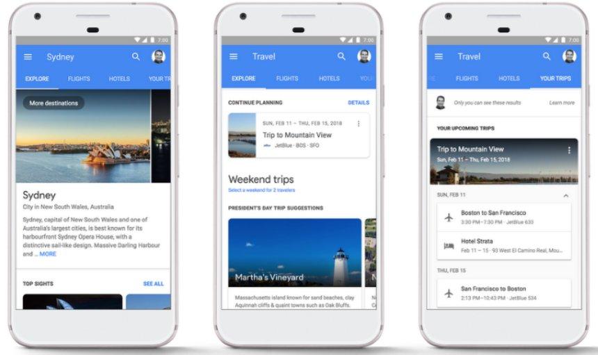 Google поможет забронировать гостиницу