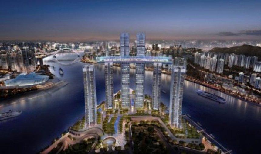 В Китае появится инновационный горизонтальный небоскрёб