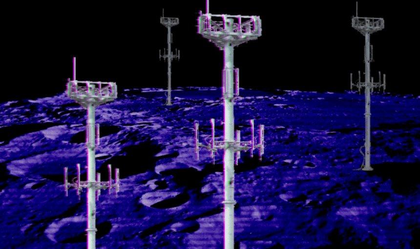 На Луну проведут мобильную связь