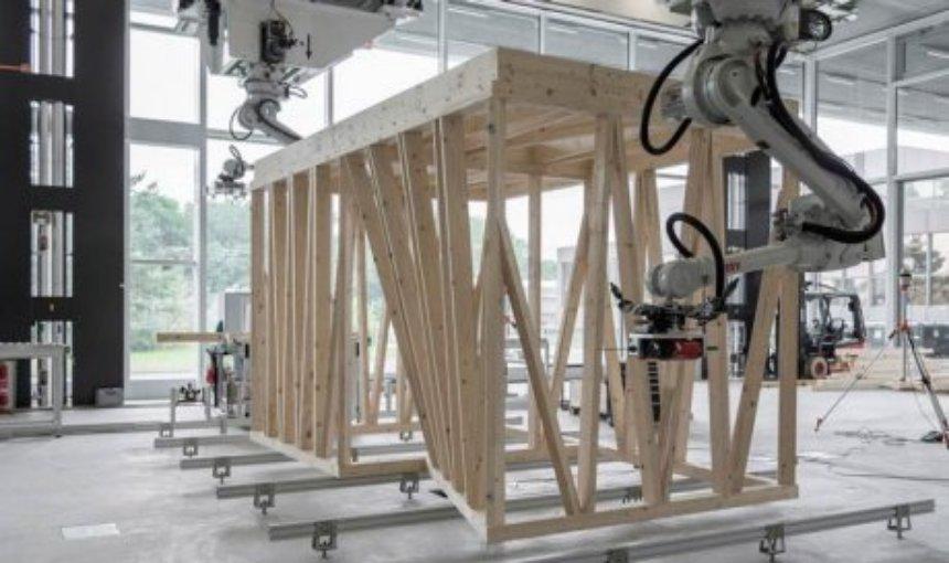 Создан робот, который может строить деревянные дома