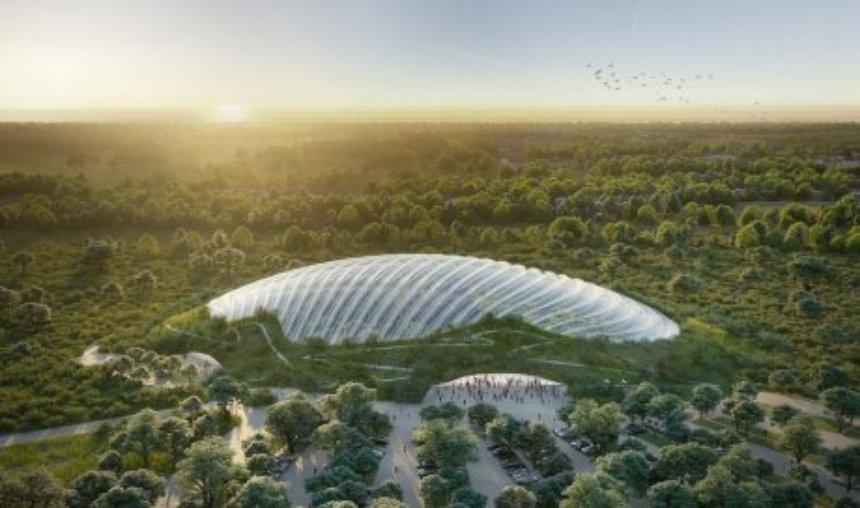 Во Франции появится огромная тропическая оранжерея