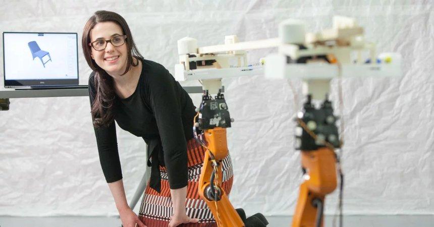 Новые роботы умеют делать мебель по заданным чертежам