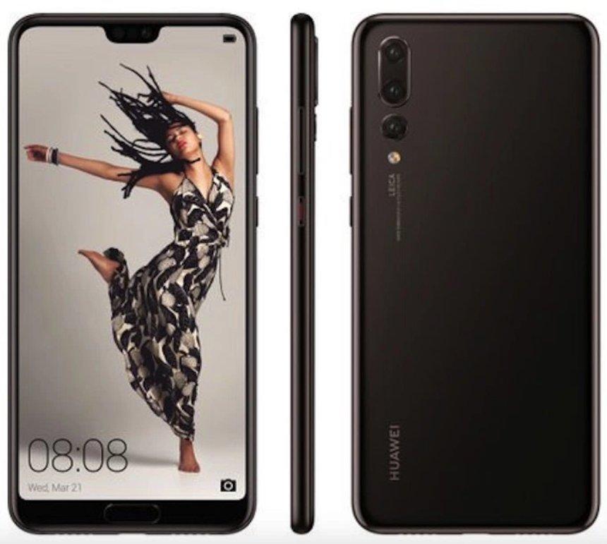 Все три будущих устройства Huawei повторят дизайн iPhone X