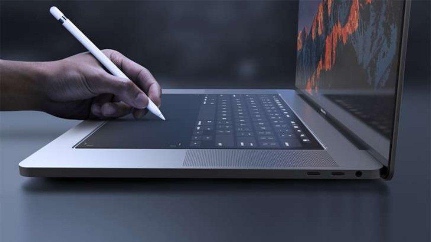 Вскоре появятся новые сенсорные клавиатуры Apple MacBook и iPad