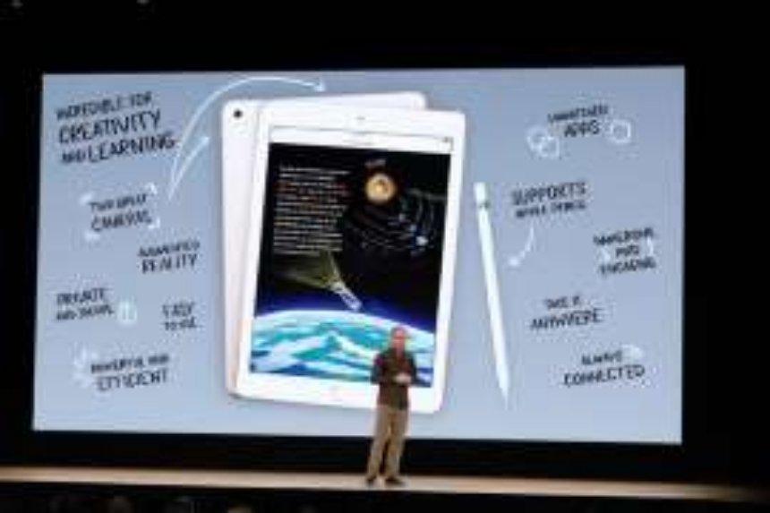 Выпущен новый  iPad  со стилусом