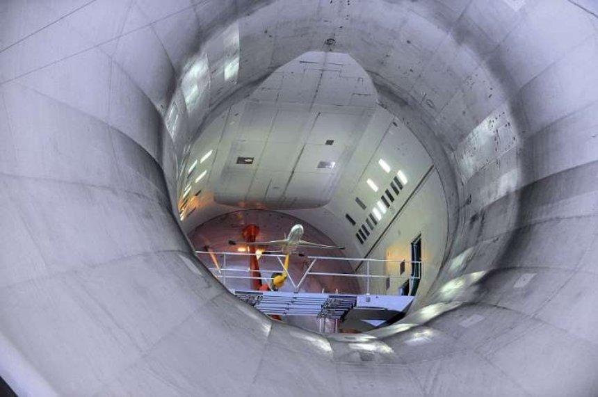 Китай построит самую мощную в мире аэродинамическую трубу
