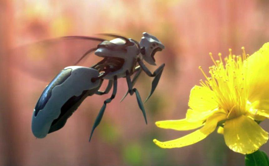 На Марс отправили роботов-пчел