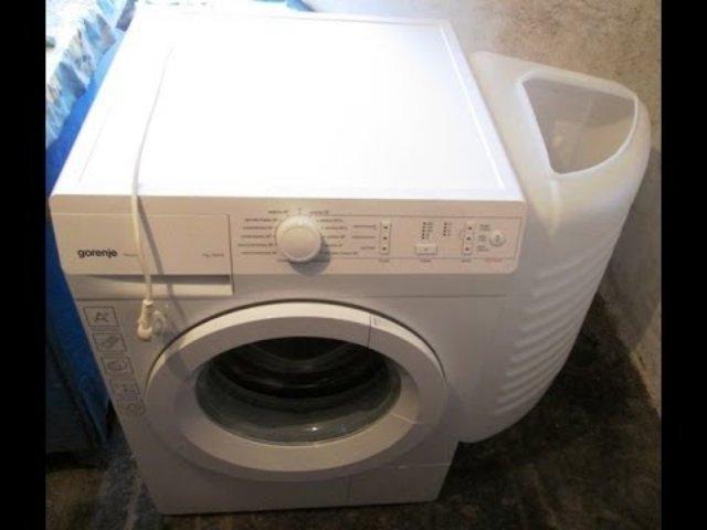 Простота и легкость в использовании стиральной машинки