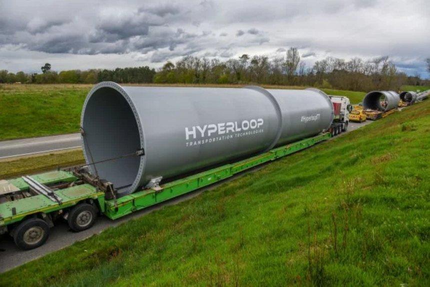 Во Франции появится Hyperloop