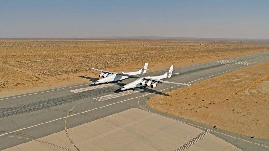 Летом собираются запустить самый огромный самолёт