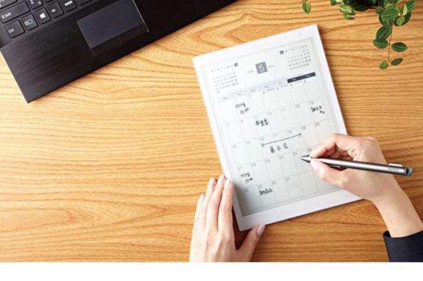 Sony анонсировала меньшую версию гигантского планшета Digital Paper E Ink