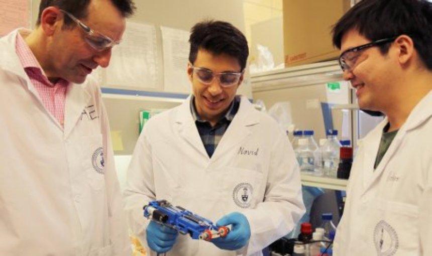 Создан ручной биопринтер для затягивания ран