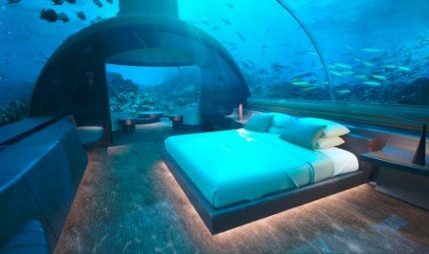 На Мальдивах появится подводная вилла