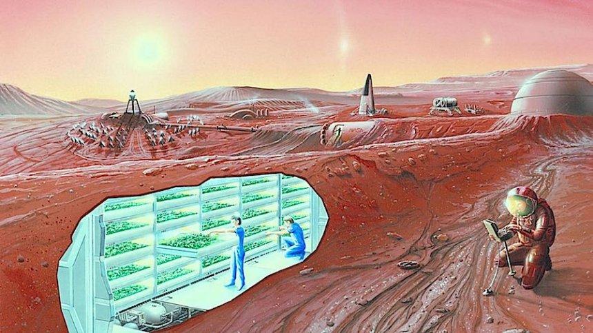 Первые марсианские колонизаторы не смогут иметь потомство