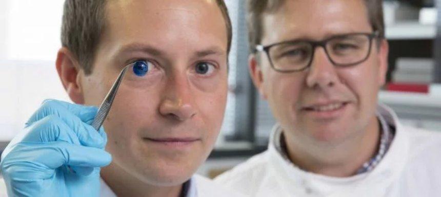 Ученым удалось создать искусственную роговицу глаза