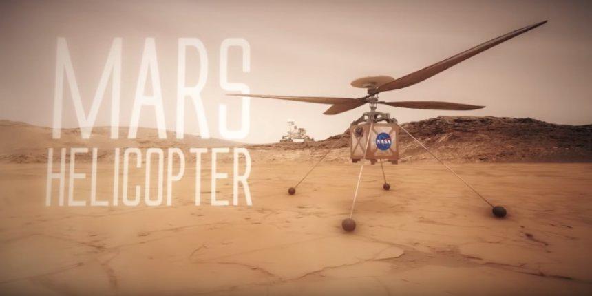 Ученые рассказали, можно ли летать на вертолете на Марсе