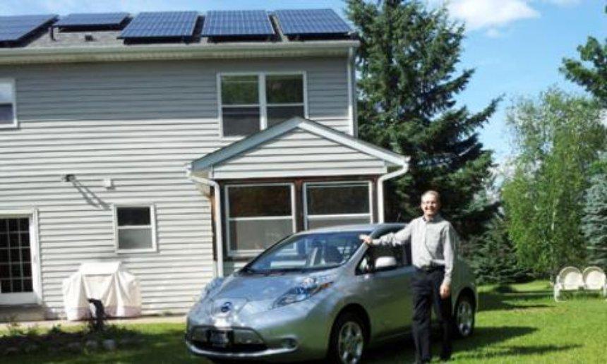 Компания Nissan решила выпускать солнечные панели