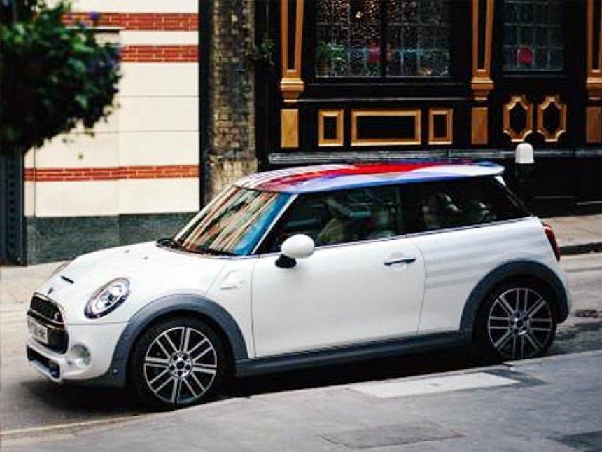 MINI выпустила эксклюзивное авто специально в честь свадьбы принца Гарри